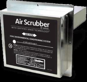 HVAC Air Scrubber to ensure high indoor air quality.