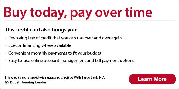 wells fargo apply today for financing