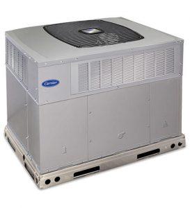 Carrier commercial packaged HVAC unit